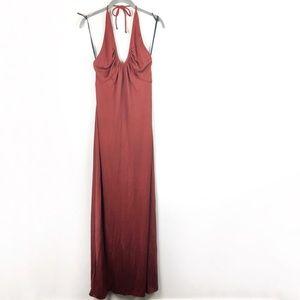[Vintage] Carol Anderson Halter Maxi Dress Sz 9/10